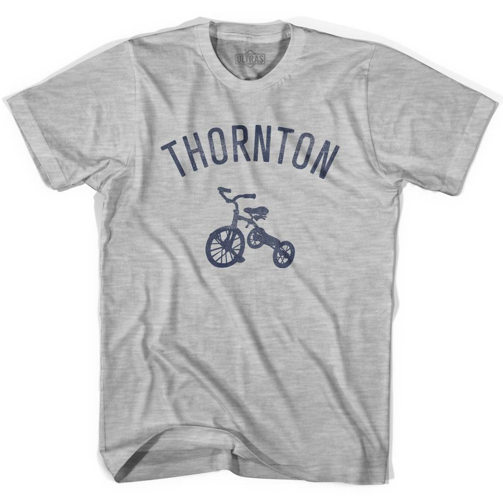 Thornton City Tricycle Adult Cotton T-shirt by Ultras