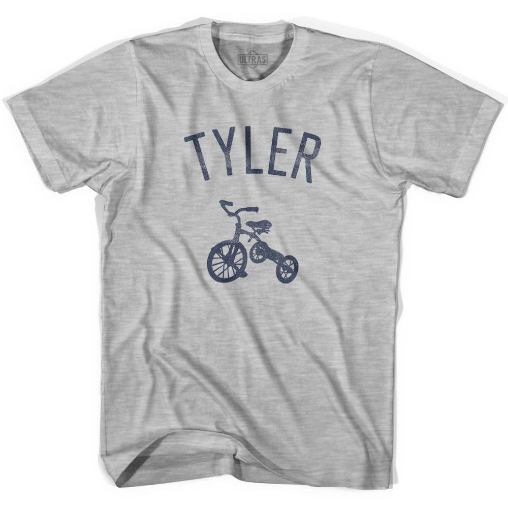 Tyler City Tricycle Adult Cotton T-shirt by Ultras