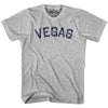 Vegas City Vintage T-shirt in Grey Heather by Mile End Sportswear