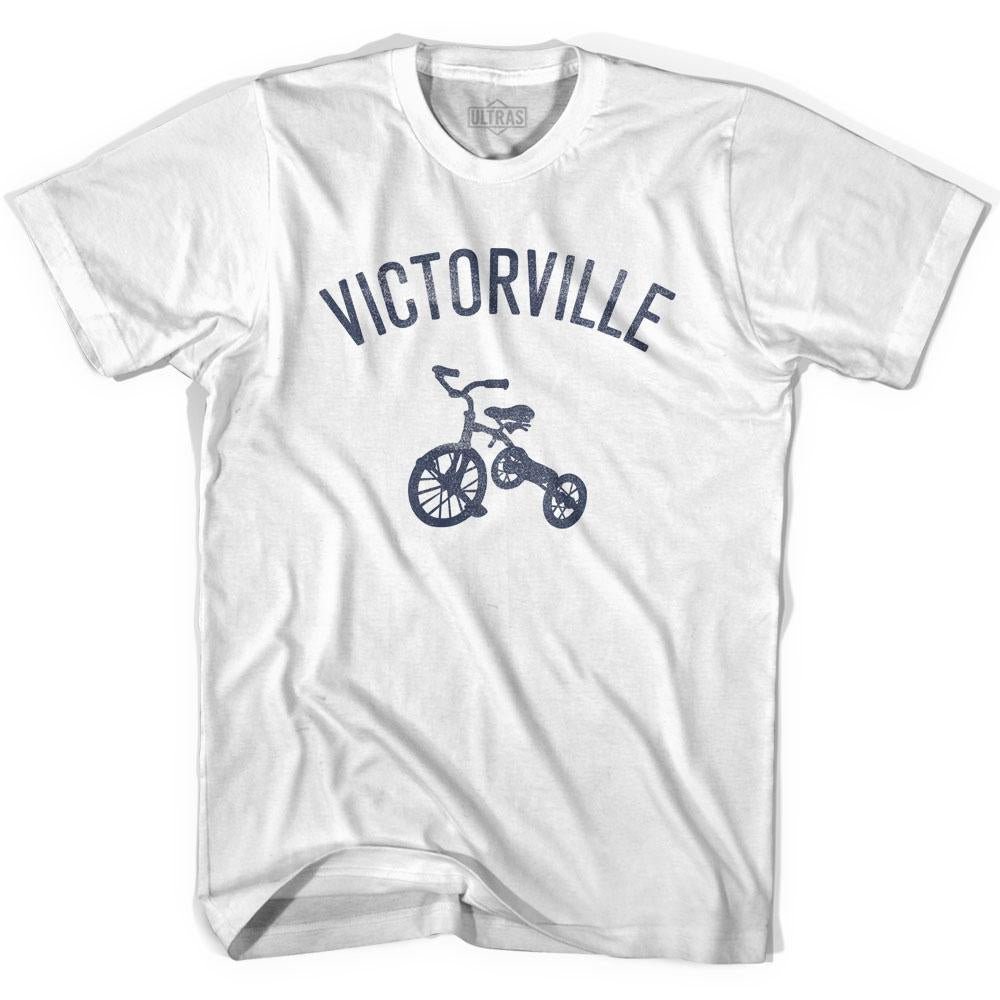 Victorville City Tricycle Adult Cotton T-shirt by Ultras