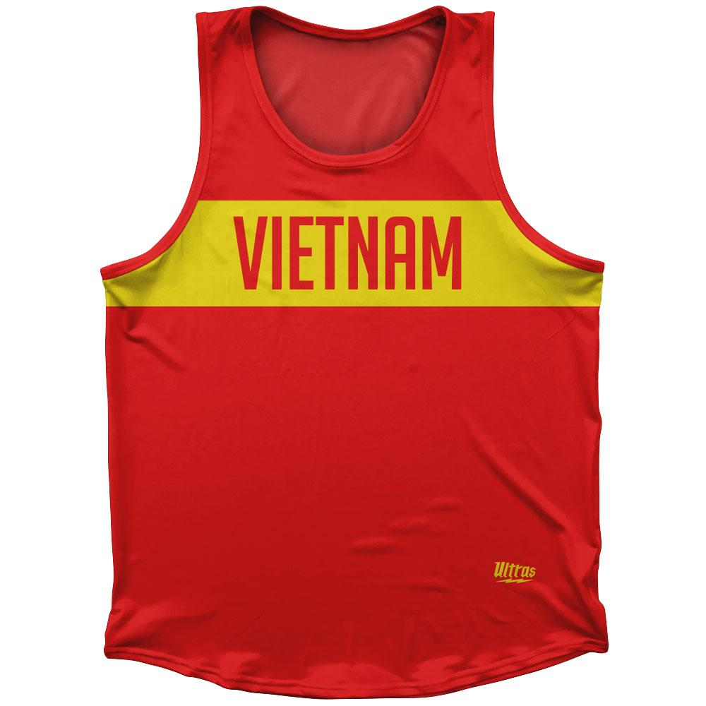 Vietnam Country Finish Line Athletic Sport Tank Top Made In USA by Ultras