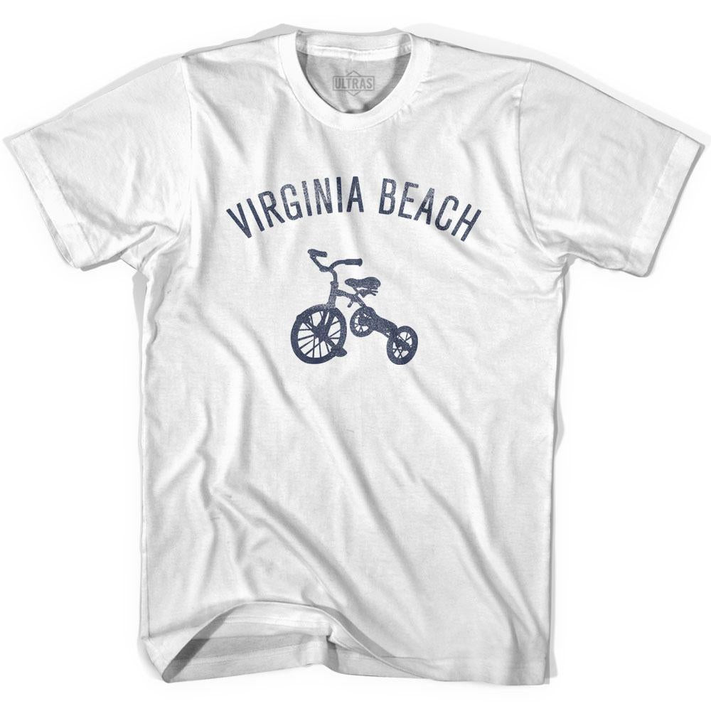 Virginia Beach City Tricycle Adult Cotton T-shirt by Ultras