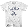 Visalia City Tricycle Adult Cotton T-shirt by Ultras