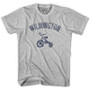 Wilmington City Tricycle Adult Cotton T-shirt by Ultras