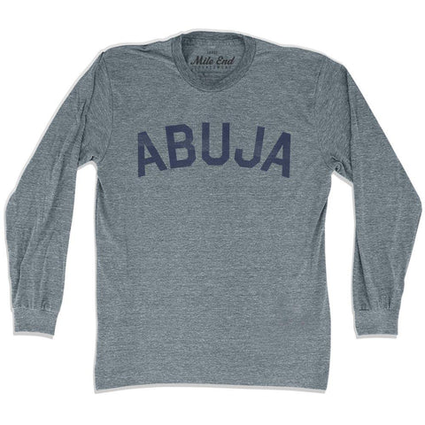 Abuja City Vintage Long Sleeve T-shirt