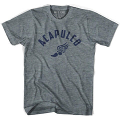 Acapulco Track T-shirt in Athletic Grey by Mile End Sportswear