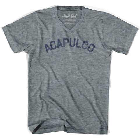Acapulco City Vintage V-neck T-shirt