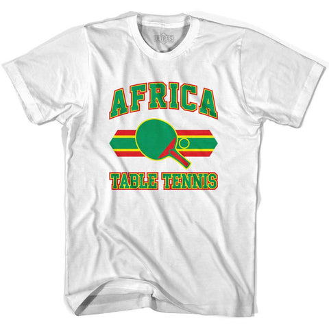 Africa Table Tennis Womens Cotton T-shirt