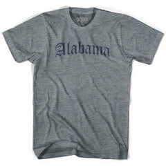 Alabama Old Town Font T-shirt by Ultras