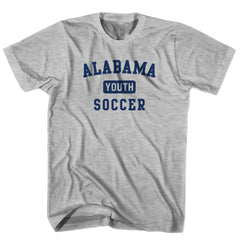 Alabama Youth Soccer T-shirt in White by Neutral FC