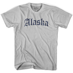 Alaska Old Town Font T-shirt by Ultras