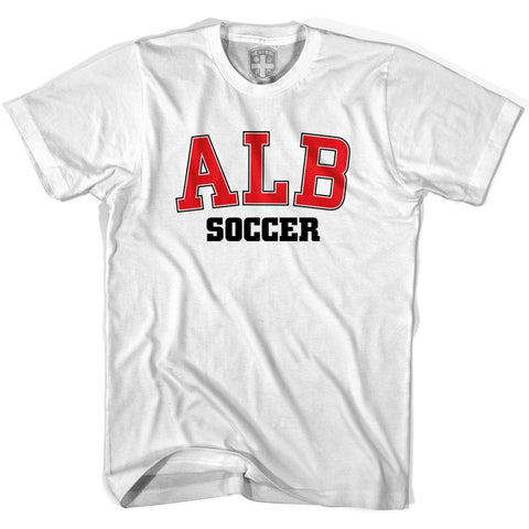 Albania ALB Soccer Country Code T-shirt