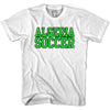 Algeria Soccer Nations World Cup T-shirt in White by Neutral FC