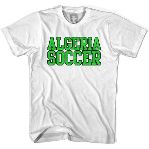 Algeria Soccer Nations World Cup T-shirt-Adult
