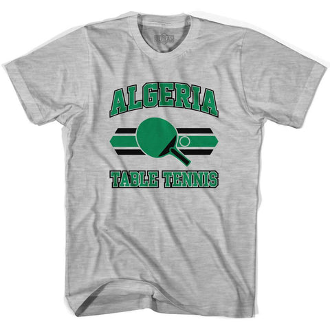 Algeria Table Tennis Youth  Cotton T-shirt