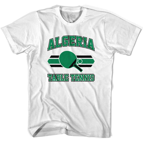 Algeria Table Tennis Womens Cotton T-shirt