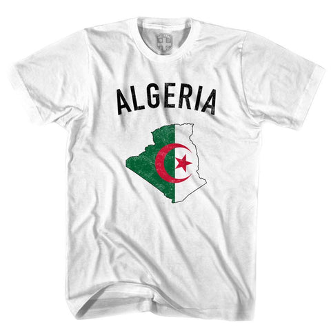 Algeria Flag & Country T-shirt-Adult