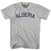 Algeria City Vintage T-shirt in Grey Heather by Mile End Sportswear