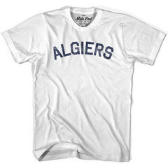 Algiers City Vintage T-shirt in Grey Heather by Mile End Sportswear