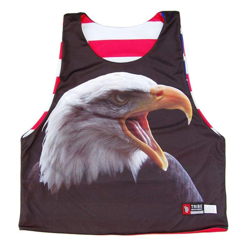 American Eagle Sublimated Lacrosse Pinnie