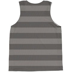 American Flag Black-Out Basketball Practice Singlet Jersey