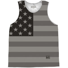 American Flag Black-Out Basketball Practice Singlet Jersey BY Ultras Basketball
