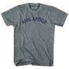 Ann Arbor City T-shirt in Athletic Blue by Mile End Sportswear
