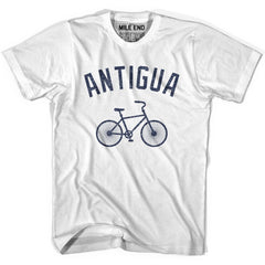 Antigua Vintage Bike T-shirt in White by Mile End Sportswear