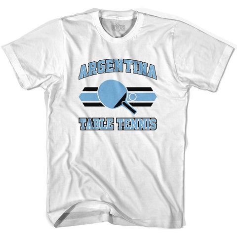 Argentina Table Tennis Youth  Cotton T-shirt