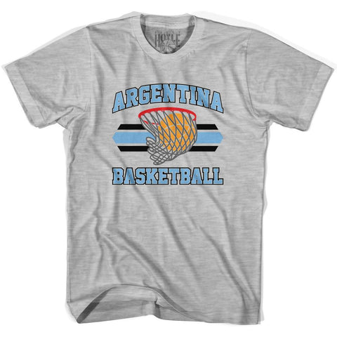 Argentina 90's Basketball T-shirt-Adult