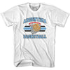 Argentina 90's Basketball T-shirt in Grey Heather by Billy Hoyle