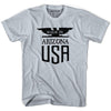 Made in Arizona Vintage Eagle T-shirt in White by Mile End Sportswear