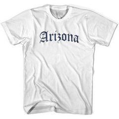 Arizona Old Town Font T-shirt By Ultras