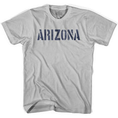 Arizona State Stencil Adult Cotton T-shirt by Ultras