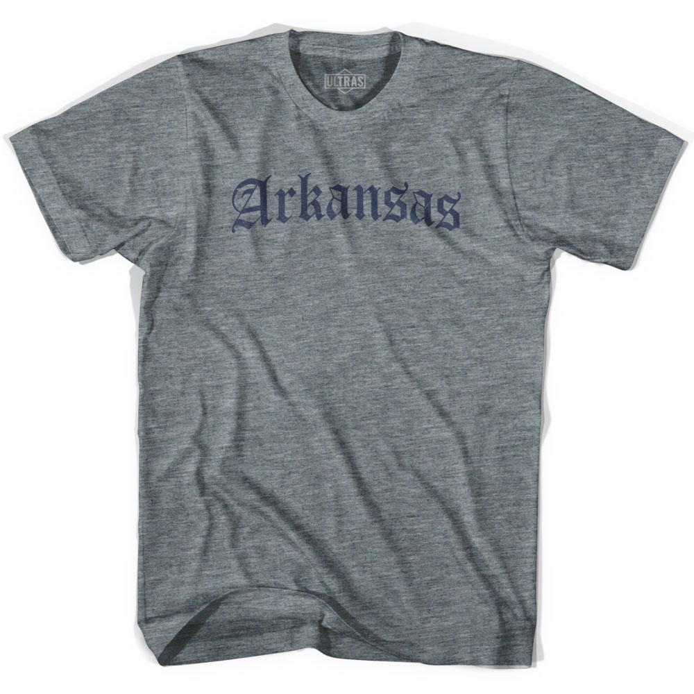 Arkansas Old Town Font T-shirt by Ultras