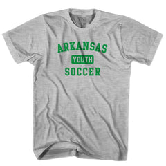 Arkansas Youth Soccer T-shirt in White by Neutral FC