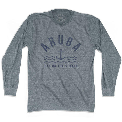 Aruba Anchor Life on the Strand Long Sleeve T-shirt