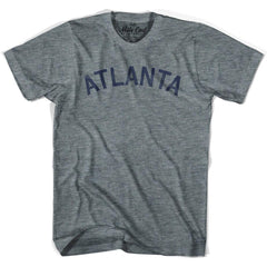 Atlanta City Vintage T-shirt in Athletic Blue by Mile End Sportswear