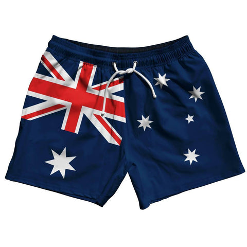 Austrialia Flag Swim Shorts 5""