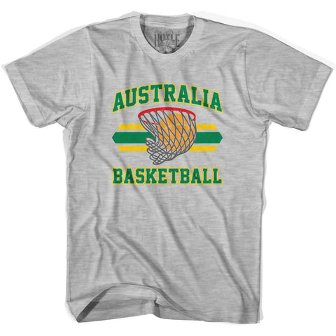 Australia 90's Basketball T-shirt-Adult