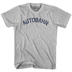 Autobahn City Vintage T-shirt in White by Mile End Sportswear