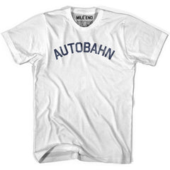 Autobahn City Vintage T-shirt in Grey Heather by Mile End Sportswear