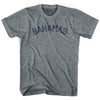 Bahamas City Vintage T-shirt in Athletic Blue by Mile End Sportswear