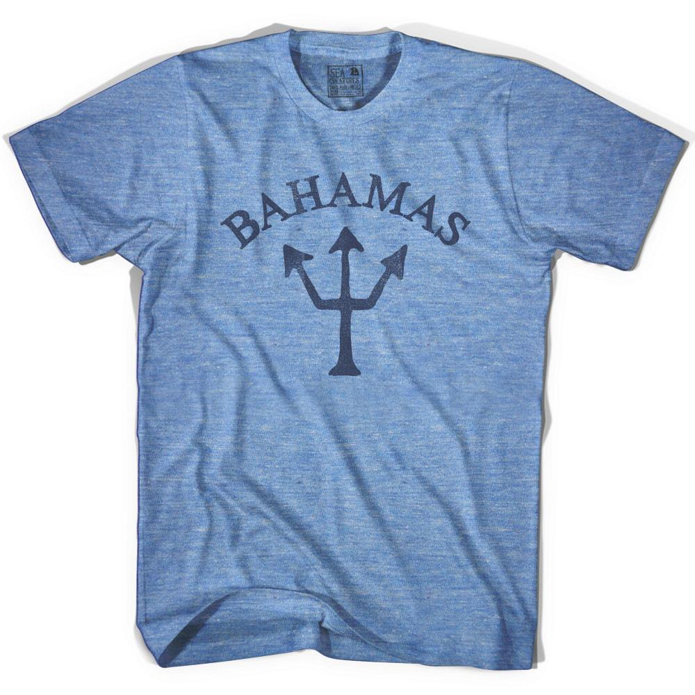 Bahamas Trident T-shirt in Athletic Blue by Life On the Strand
