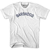Barbados City Vintage T-shirt in Grey Heather by Mile End Sportswear