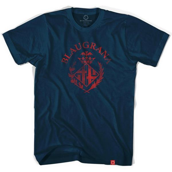 Barcelona Blaugrana Soccer T-shirt in Navy by Ultras