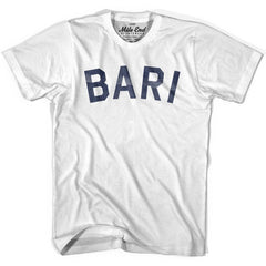 Bari City Vintage T-shirt in Grey Heather by Mile End Sportswear