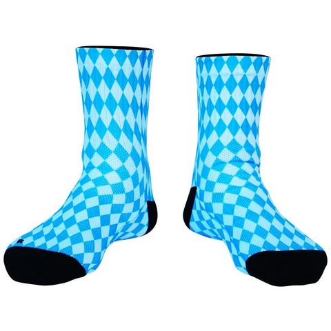 Bavarian Diamonds Premium Athletic Half Crew Socks