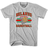 Belarus Basketball 90's Basketball T-shirt in Grey Heather by Billy Hoyle