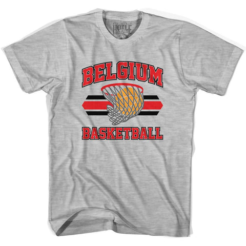 Belgium 90's Basketball T-shirts